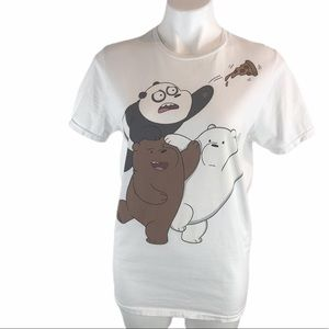 CN The Bare Bears Sz S Graphic Tee (small stain)